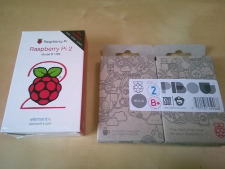Raspberry Pi 2の箱